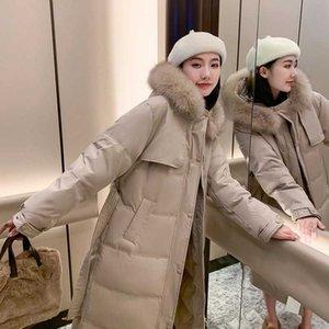 2020 aşağı xia kış yeni shiwen aynı orta boy kalınlaşmış ekmek pamuk ceket kadın ceket