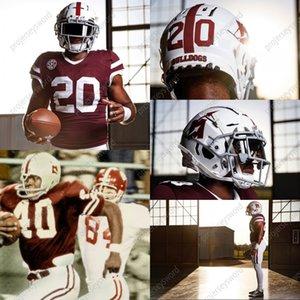 2020 Mississippi State Bulldogs Futbol Jersey Will Rogers K.J. Costello Jalen Mayden Allan Walters Justin Stolberg Malik Heath Kylin Tepesi