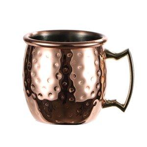 Tasse de mule Moscou de 60ml Mini MOSSPRESS ESPRESSO COPPER TUMS PLUS VERREES MUTES MULLES Tasses en acier inoxydable 2oz pour mini-bar