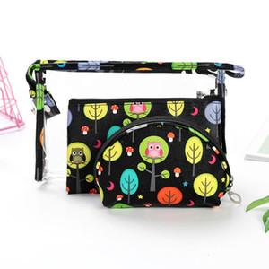 MODYCON 3PCS / Set multifunzione sacchetto cosmetico di immagazzinaggio di caso Zipper portatile Viaggi compone il sacchetto dell'organizzatore Cosmetics Container
