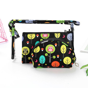 Borsa Organizer Multifunzione Cosmetico ModyCon Storage Cosmetics Zipper Portatile Contenitore 3pcs / set up Case Bag Travel Fai TDOVM
