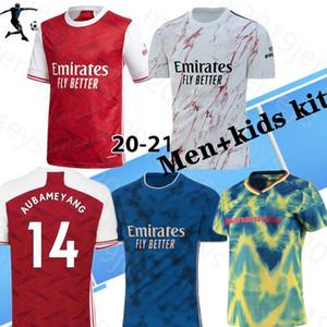 Ev Uzakta Erkekler + Kidsthailand Kalite 2020 2021 Arsen Futbol Formaları Pepe Nicolas Ceballos Henry Sokratis 20 21 Kadın Gunners Futbol Gömlek