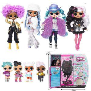 OMG LOL сестра сюрприз кукла волосы принцесса кукла мода барби девушка подарок игрушка 01
