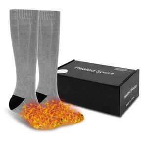 Heating Sock Cykling Trekking Elastic Comfortable Water Resistant Electric Warm Sock Set Socks Men For Basketball Outdoor Sport