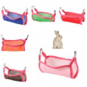 Home Use Large 30*29cm Breathable Mesh Hammocks 6 Colors Squirrel Hammock Summer Outdoor Portable Pet Squirrel Mesh Hammock DH1062-1 T03