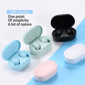 A6S Pro TWS Wireless Bluetooth 5.0 Earphones Headphones Stereo Waterproof Headset for Xiaomi For iPhone 12 12 Mini 12 Pro Max