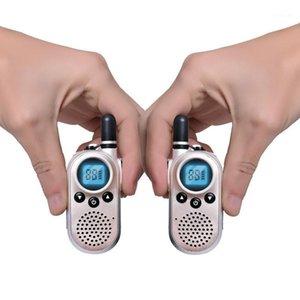 2 Stück Mini Professional Walkie Talkie Hotel Restaurant KTV UHF Ein Paar Portable Micro Walkie-Talkie USB-Akku Intercom1