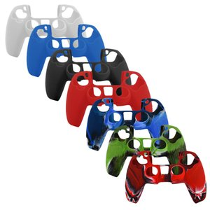 PS5 playstation 5 PS5 Anti-Rutsch-Silikon-Gummi-Hülle für PlayStation 5-Controller Dualsense Gamepads Hautschutz
