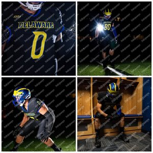 Custom 2020 DELAWARE Blue Hens PAT KEHOE WILL KNIGHT THYRICK PITTS KEDRICK WHITEHEAD TIM POINDEXTER DEJOUN LEE NCAA College Football Jersey