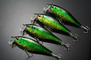 Wholesale Lot 10 Fishing Lure Popper CranKbaits Bass Hooks 13.5g 9.5cm Free Shippng