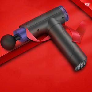 Профессиональный Deep Tissue Полный массаж тела, электрический фасции пистолет, чтобы сбросить напряжение мышцы, глубокий массаж Gun массажными.