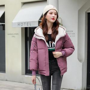 Giacca Orwindny Parka Donne New Green con cappuccio delle donne di inverno cappotti cotone imbottito Outwear wadded femminile XS-3XL 201026