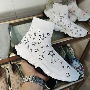 mens and women calfskin high top sneakers Flower motifs vintage trainers BAOLILAI200326