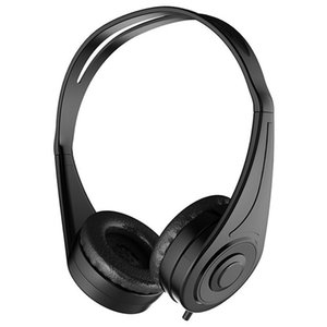HiFi Wired Voice Headset Foldable Headset Stereo Bass and Microphone for PC Mobile Phone Tablet