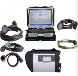 MB SD Connect C4  C5 Star Diagnosis with 2020.09 Super Engineering Mode DTS monaco And Vediamo Plus Panasonic CF19 I5