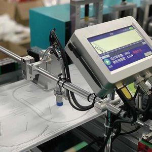 Machine automatique de codage en ligne multi Langue numérique Imprimante jet d'encre jet d'encre thermique TIJ Imprimante pour bande transporteuse automatique
