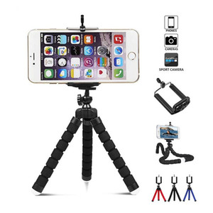 Flexible Tripod Mini Universal Mobile Cell Phone Holder Octopus Tripod Supports Clip Digital Camera Stand Mount Phone Monopod