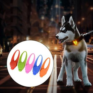 Pet Collars LED Pendant Dog Collar With ColorfuL LED Lights Neck Collar For Dogs Cats Decor Pet Accessories 1PC