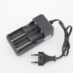 26650 배터리 충전기 2 슬롯 AC 110V 220V 스마트 듀얼 충전 18650 26650 14500 18350 16340 리튬 이온 충전식 손전등