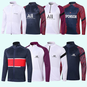 2020 2021 new France Paris tracksuit 20 21 france Paris Air Jordam tracksuit soccer jacket football shirts MBAPPE maillot de foot