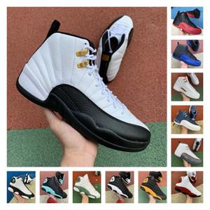 2021 Jumpman Fiba Ovo Hot Punch Game Royal 12 12s Мужская баскетбольная обувь Черный кот 13с Чикагский Такси DMP Женщины Спортивные кроссовки Размер 13