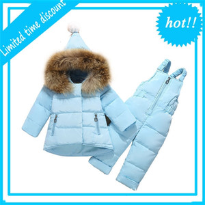 High Quality Winter Sets of Girls Hot Parka For Baby Girl Clothing Jas Children Snow suit