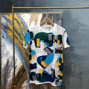 2021 Mode 100% Baumwolle Herren T-shirts Sommer Drucken Cartoon T-shirt Frauen Damen Kurzarm Rundhals T-shirts Neuer Mann T-Shirts T21