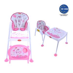 Pocket & Mama Pink Uni Feeding Chair LJ201110