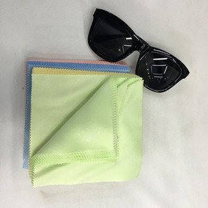 13*13CM Microfiber Glasses Cleaning Cloths Sunglasses Microfiber Glasses Cloth Mobile Phone Wipe Cloth For Free DHL