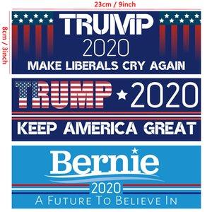 Donald Trump 2020 Car Sticker America President Election Sticker Fashion Exquisite Stickers Home Garden Waterproof Stickers EEE2618