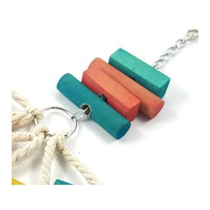 Natural Wood Pet Bird Toy Parrot Gnawing Bauble Bite Plaything Toys For Medium Large Bird Hamster Tokyo Rabb qylVaL yh_pack