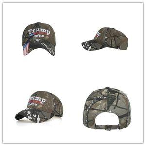 Donald Trump Hat Make America Great MAGA Hat Caps Camouflage Mens Baseball Cap for Women Female Wholesale ZZC1204