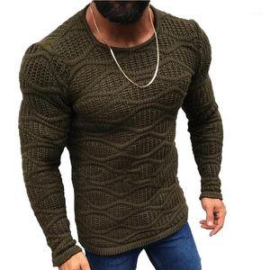 Lunoakvo 2019 Camisola Quente Mulheres Moda Sólida O-pescoço Slim Fit Sweathers Masculino Outono Manga Longa Inverno Plus Size Mens Roupas1