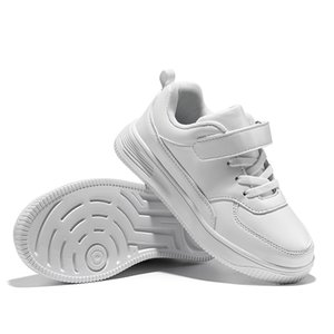 White Kids Shoes For Boys And Girls Fashion Children Casual Shoes Non-slip Sneakers 201123