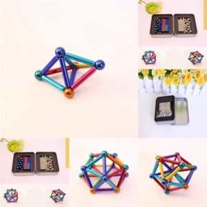 Zb6 Anti-Stress Finger Magnetic Ring Puzzles For Autism ADHD Anxiety Relief toy Kids Decompression Fingertip lead decompression Focus