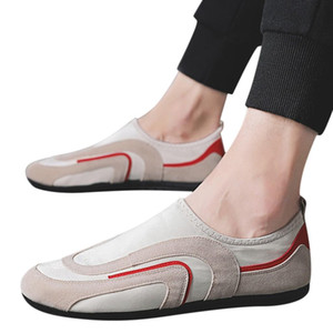 KANCOOLD Erkekler Vulkanize Ayakkabı Kilidi Kayma-On Sonbahar Platformu Erkekler Ayakkabı Rahat Işık Büyük Boy Erkek Ayakkabı Dropship 71223
