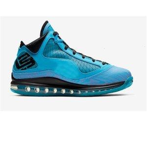 페어팩스 7 개 남성의 모든 농구 흰색 신발 스타 블랙 카펫 레드 유리 블루 높은 품질 제임스기를 디자이너 스포츠 스니커즈 7-1 냉각 장치
