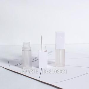 Bottiglie di stoccaggio Barattoli 10/30 / 50pcs / lot 26 g 26g opaco vuoto Glassato Lip Gloss Tube, bottiglia di smalto portatile quadrato fai da te, cosmetici coutible co