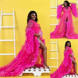 Rose Red Evening Dresses Maternity Dress for Photoshoot or Babyshower Custom Made Maternity Dress for Photoshoot Prom Party Dress