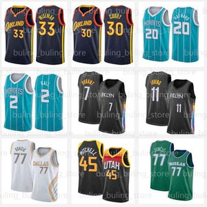 Stephen 30 Curry Basketball Jerseys Lamelo 2 Ball Kevin 7 Durant Jersey Irving Gordon 20 Hayward 33 Wiseman Klay 11 Thompson Kyrie 2021