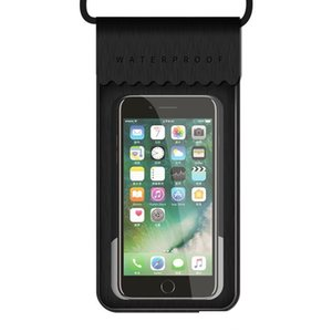 Outdoor Diving Waterproof Cellphone Bag Pouch TPU Leather Swimming Beaching Mobile Phone Holder Dry Case for iPhone Samsung Universal