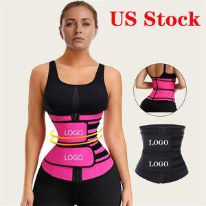 DHL Shipping Slimming Waist Trainer Lumbar Back Waist Support Brace Belt Gym Sport Ventre Belt Corset Fitness Trainer Body Shaper Hot 2021
