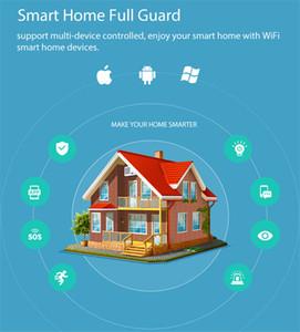 Détecteur de capteur de mouvement Smart WiFi Pir Smart WiFi Smart Batterie intégrée à la batterie Smart Home Automation avec IFTTT