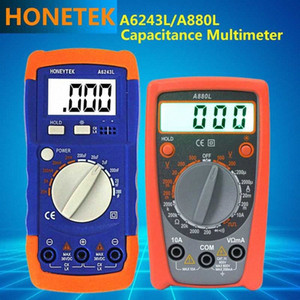 Newest Mini A880L Pocket type Digital multimeter Diode Voltage Tester Meter, A6243L Capactiance Inductance Resistance Meter kUxp#