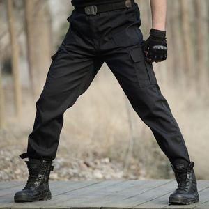 April Momo Men Military Tactical Cargo Pants Men Army Tactical Sweatpants di alta qualità Black Working Men Pant Abbigliamento Pantalone 201110