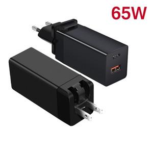 65W Carregador PD USB C Charger Com Quick Charge 4.0 3.0 Porta USB Phone Charger Para Macbook Para Xiaomi Para Samsung Laptop
