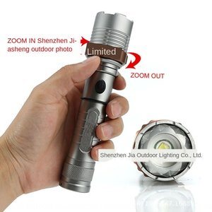 focusing hot sale led Police 10 direct charge rotating war strong Store T6 flashlight flashlight Lotus attack head 5h464