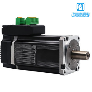 JMC CNC 400W 3000rpm 48V Integrated Stepper Servo Motor with Driver IHSV60-30-40-48-RC RS485 CAN Bus