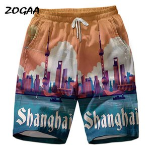 Zogaa 2020 Beach Short surfing swimsuit men's shorts Swimming Beach Flower shorts men's short vacation wandering
