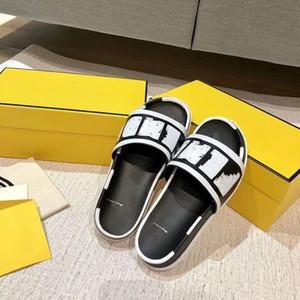 Pantofole casual del progettista di modo per uomini e donne, scivoli della spiaggia di estate, sandali delle donne, con le scatole, trasporto libero all'ingrosso all'ingrosso